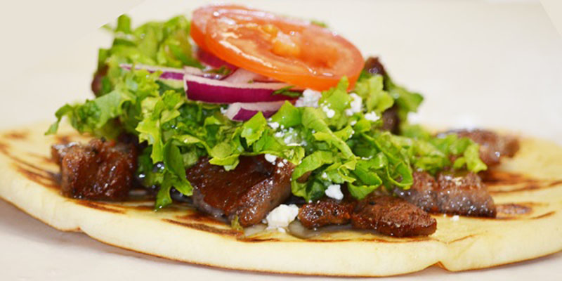 Pics Photos - Lamb Gyro With Side Of A Salad